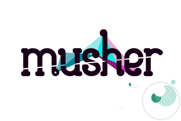Graphiste Freelance Creatif Creation De Logo Groupe Musique Musher